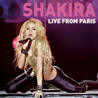 Shakira editará nuevo DVD en directo, su single «Antes de las 6»