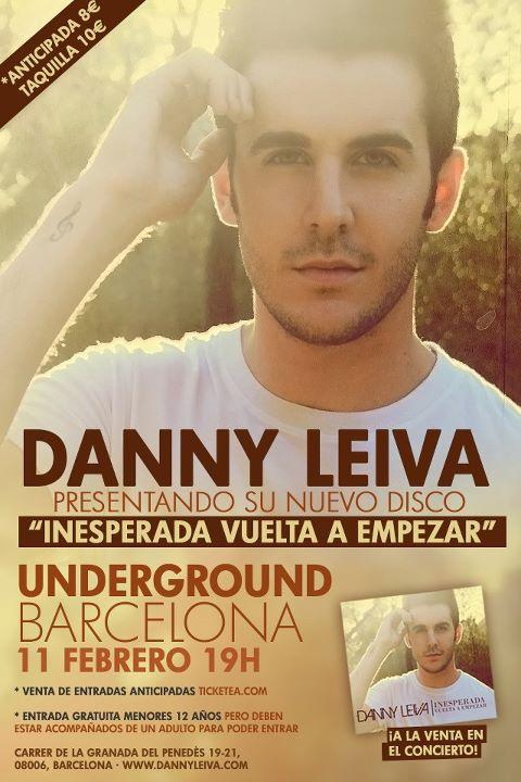 Colabora con Danny Leiva diseñando una chapa para su gira @DannyLeiva