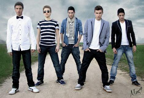 @AurynOficial es la boyband española para Top Europa y @AurynFanOficial se pronuncian