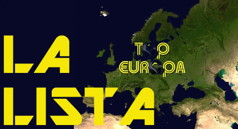 Lista Top Europa – 17/02/2013 Bruno Mars ( @BrunoMars ) y Locked out of heaven vuelve al 1