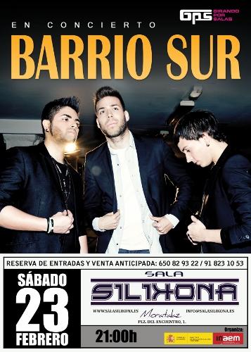 Top Europa y Sony Music (@SonyMusicSpain) te invitan al concierto de Barrio Sur (@Barrio_Sur) en Madrid