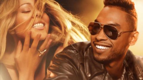 Mariah Carey ( @mariahcarey ) vuelve con Miguel ( @MiguelUnlimited ) y la balada Beautiful