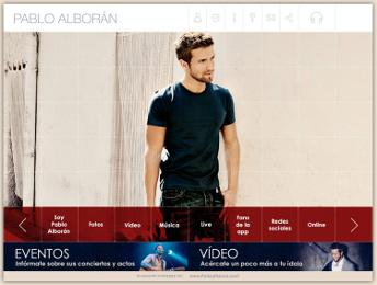 Se pone de largo #PabloAlboranApp la aplicación para smartphones y tablets de @PabloAlboran