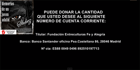 @shaez_cantautor pone en marcha proyecto solidario contra los #NiñosDeLaGuerra