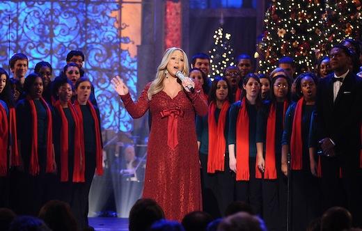 @MariahCarey celebra los 20 años de #MerryChristmas con 4 shows en vivo