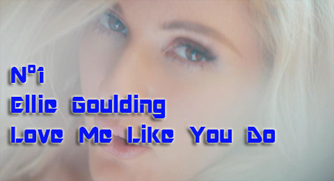 Lista Top Europa – 22/03/2015 El señor Grey nos vuelve a seducir y @EllieGoulding repite en el nº1 con #LoveMeLikeYouDo