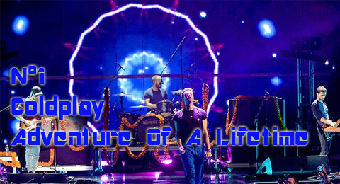Lista Top Europa – 10/01/2015 @Coldplay llegan con su aventura al nº1