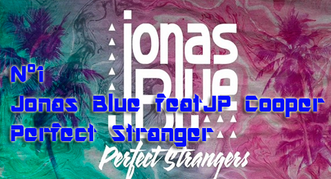 Lista Top Europa – 23/10/2016 @JonasBlueMusic encabeza la lista con #PerfectStrangers