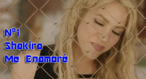 Lista Top Europa – 14/05/2017 @Shakira nos enamora y consigue el nº1