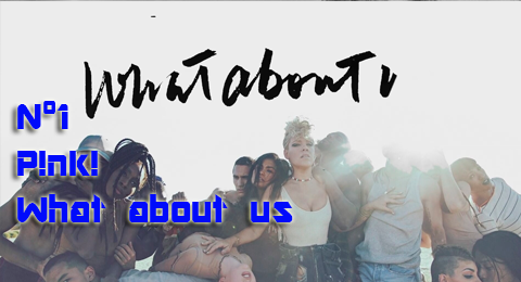 29/10/2017 – Lista Top Europa What about us de @pink repite en el 1
