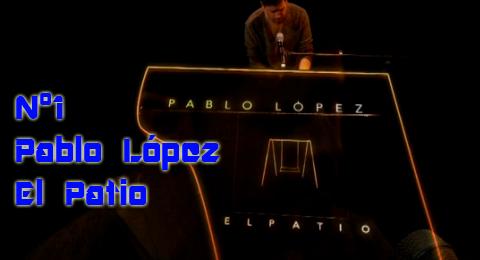 Lista Top Europa – 11/03/2018 @PabloLopezMusic celebra su nº1 en Top Europa en #ElPatio