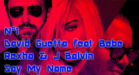 Lista Top Europa – 07/04/2019 Nuevo nº1 para @DavidGuetta con #SayMyName