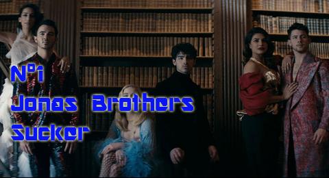 Lista Top Europa – 16/06/2019 Primer nº1 para los hermanos Jonas con #Sucker